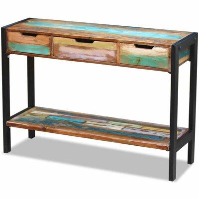 "Williston Forge Rosana 43.25"" Wide 3 Drawer Wood Sideboard"