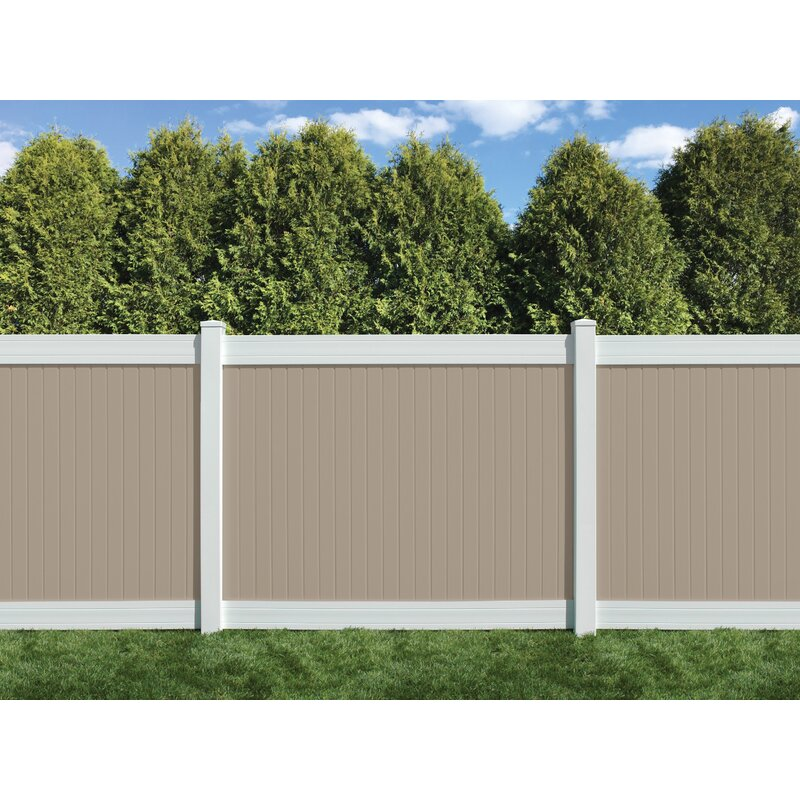 Sixth Avenue Building Products 6 Ft H X 8 Ft W Wexford Vinyl Fence Panel Wayfair