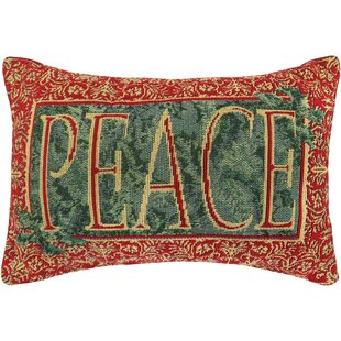 Vintage House Earthly Peace Tapestry Lumbar Pillow