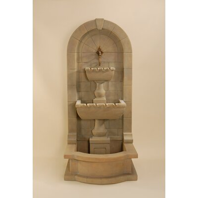 Monterosso Concrete Wall Fountain Giannini Garden Ornaments
