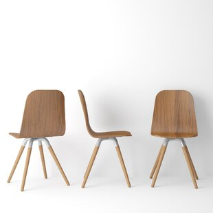 Ambrosine Solid Wood Dining Chair (Set of..