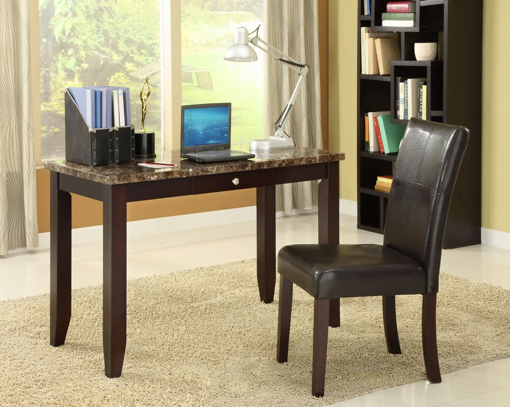 Elegant Writing Desks Wildon Home ® Elegant Writing Desk And Chair Set & Reviews  Wayfair