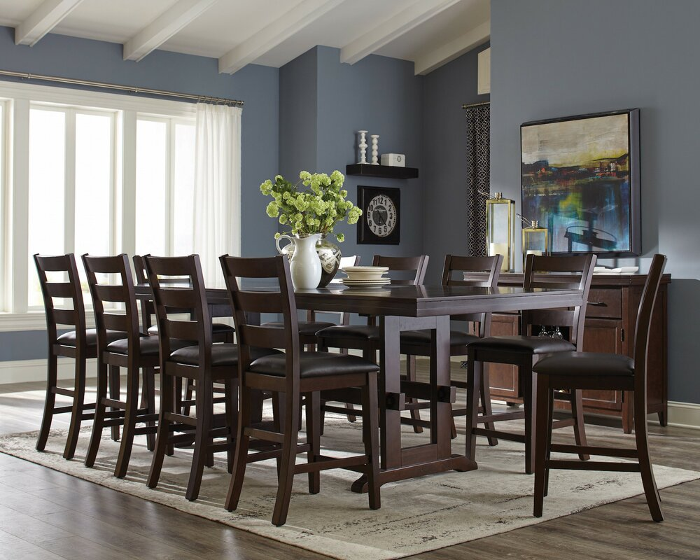 infini furnishings richmond  piece counter height dining set  -   piece kitchen  dining room sets sku ifin defaultname