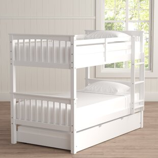 Online Reviews Esmeralda Twin over Twin Bunk Bed with Trundle by Harriet Bee Reviews (2019) & Buyer's Guide