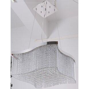 Huntsman 16-Light Crystal Chandelier by House of Hampton