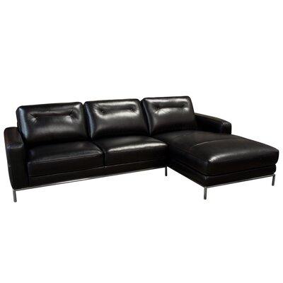 Diamond Sofa Sable Sectional Orientation: Right Hand Facing