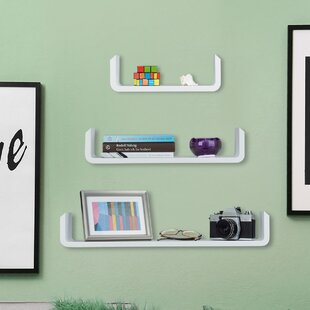 Milana 3 Piece Floating Shelf Set By 17 Stories