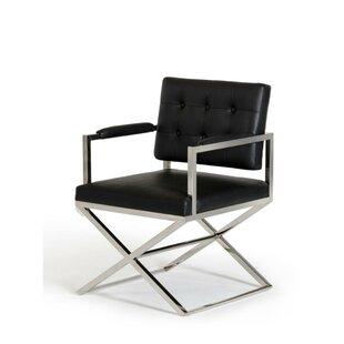 Dancer Upholstered Dining Chair by Orren Ellis