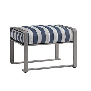 Del Mar Outdoor Ottoman with Cushion by Tommy Bahama Outdoor