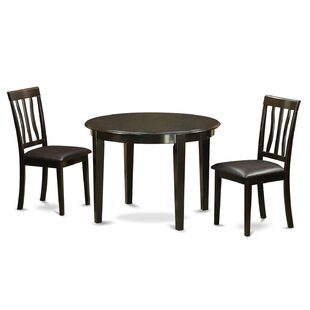 Boston 3 Piece Dining Set by Wooden Importers Coupon