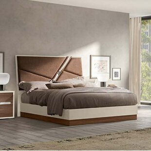 Orren Ellis Sunnydale Upholstered Panel Bed