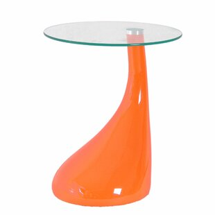 End Table With Light Attached | Wayfair