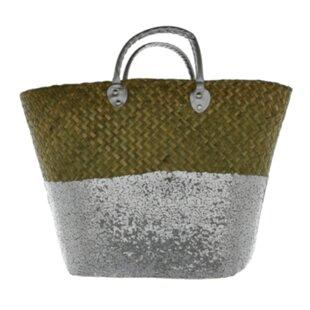 Large Beach Wicker Laundry Basket By Symple Stuff