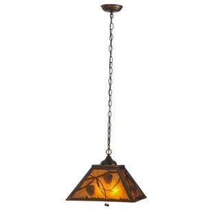 Whispering Pines 2-Light Pendant by Meyda Tiffany