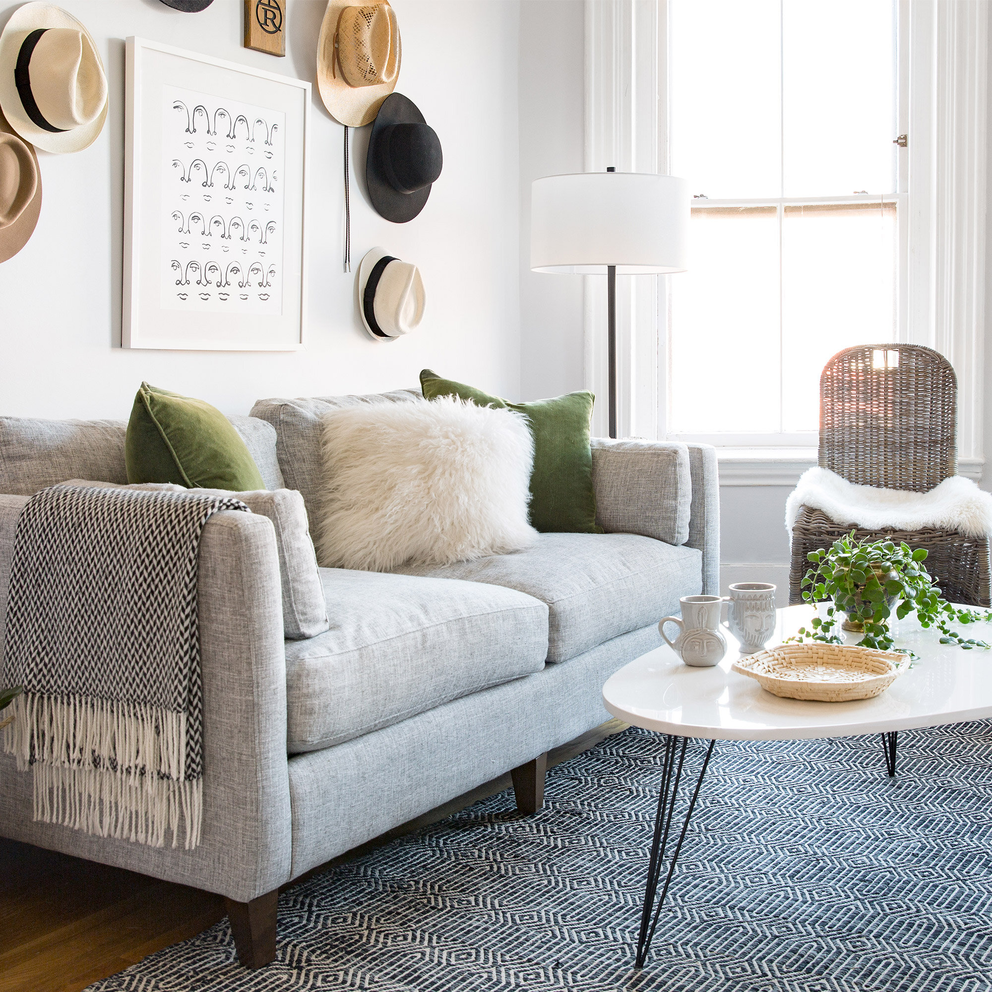 Small-Space Makeover: A Bright, Open Living Room  Wayfair