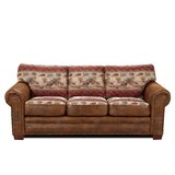 Deer Valley Cotton Sofa Bed 88 Round Arms by Millwood Pines