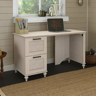 Merveilleux Desk With Two File Drawers | Wayfair