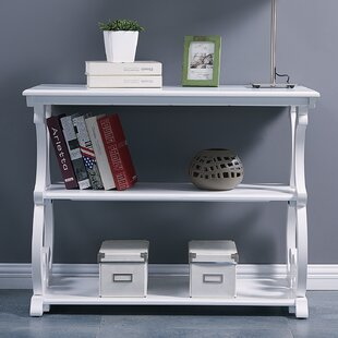 One Allium Way Elige Scroll Console Table