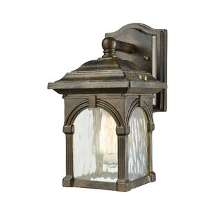 Compare prices Joshana 1-Light Outdoor Wall Lantern By Gracie Oaks