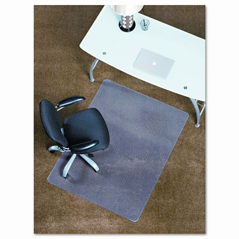 E S Robbins Anchormat Chair Mats Medium Pile Carpet Rectangular Reviews Wayfair
