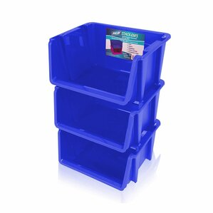 stack u0027ems stackable storage bin set