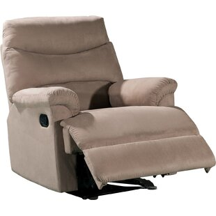 Schall Contemporary Microfiber Manual Recliner