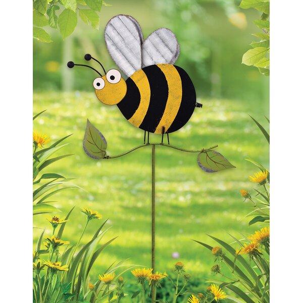 Bumble Bee Handmade Canvas Yarn Small Gift Bag For Tea Bags Hostess Gift
