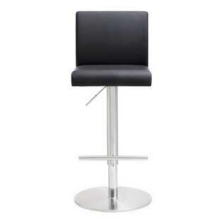 Kiara Adjustable Height Swivel Bar Stool