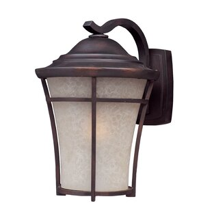Loon Peak Hanwell 1-Light Outdoor Wall Lantern