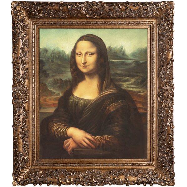 Leonardo da Vinci Mona Lisa Giclee Canvas Print  Poster