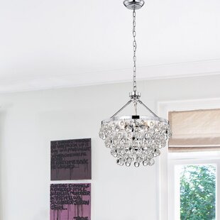 Low priced Ahern 5-Light Crystal Chandelier By Willa Arlo Interiors