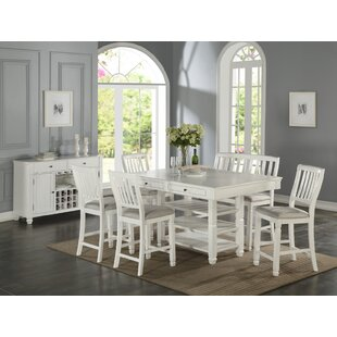 Dwaine 6 Piece Pub Table Set Highland Dunes