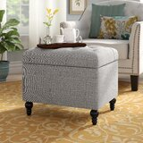 Dolly 24 Tufted Rectangle Storage Ottoman by Andover Mills™