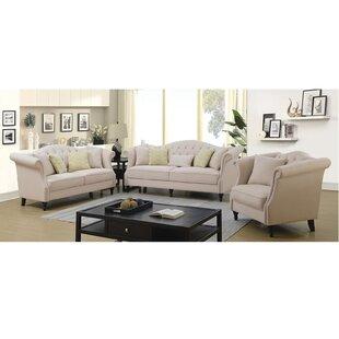 Calvary Configurable Living Room Set by Andrew Home Studio