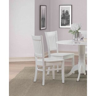 Ervine Solid Wood Dining Chair (Set of 4)