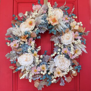 Year Round Wreath Housewarming Wreath Spring Wreath Whimsical Wreath Welcome Wreath Everyday Wreath Football Decor Front Door Decor