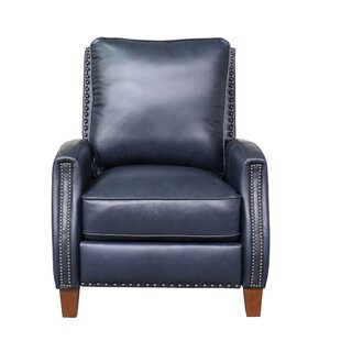 Bradly Leather Manual Recliner By Canora Grey