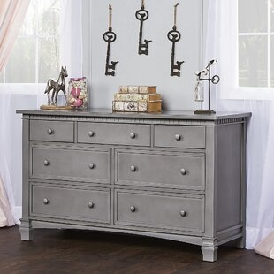 Alessandra 7 Drawer Double Dresser by Harriet Bee