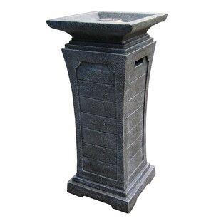Landmann Seneca Stone Propane Fire Column