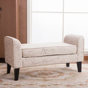 Warehouse of Tiffany Toni Upholstered Bench