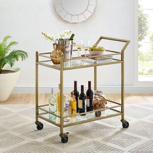 Chesterfield Bar Cart By Birch Lane™ Heritage