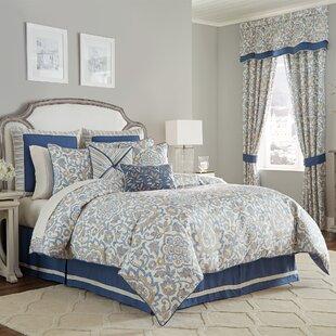 Janine 4 Piece Comforter Set