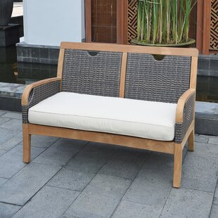 Mansfield Teak Loveseat with Cushion