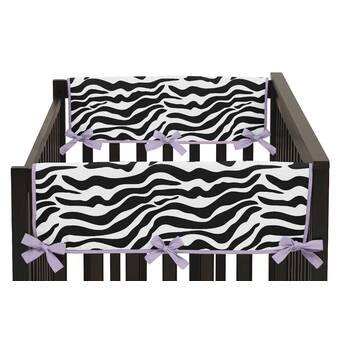 Sweet Jojo Designs Suzanna Long Crib Rail Guard Cover Wayfair