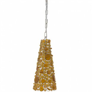 World Menagerie Ellery 1-Light Cone Pendant