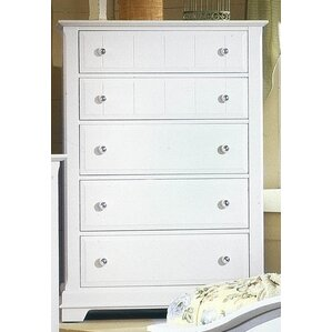 Marquardt 5 Drawer Chest by Darby Home Co