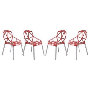Ivy Bronx Melcher Modern Dining Chair (Set of 4)