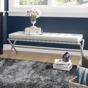 Tassone Upholstered Bench by Mercer41