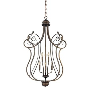 Samson 6-Light Lantern Chandelier by Fleu..