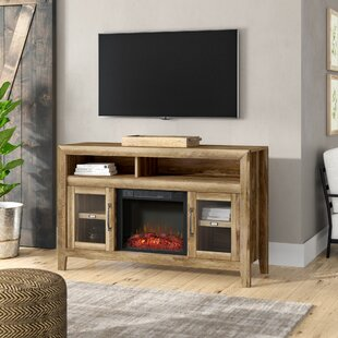 Orford TV Stand for TVs up to 60 with Electric Fireplace by Three Posts